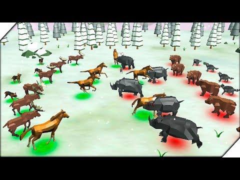 СИМУЛЯТОР БИТВЫ ЖИВОТНЫХ - Игра Animal Kingdom Battle Simulator 3D