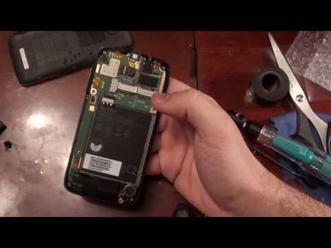Lenovo A390 замена тачсрина\ touchscreen replacement