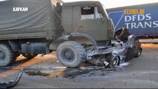 Подборка ДТП - Аварии Грузовиков - дальнобойщики, фуры, ужасные аварии