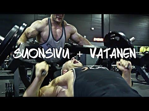 Yläkropan työntävät feat. Suonsivu | PT Vatanen