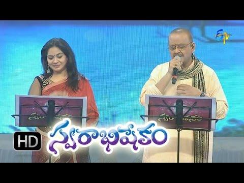 Akasa Vidhilo Song - SP. Balasubrahmanyam,Sunitha Performance in ETV Swarabhishekam - 18th Oct 2015