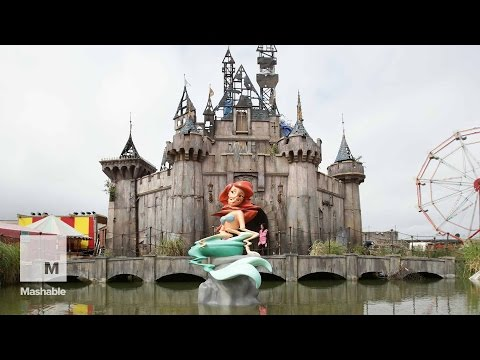 Behold Dismaland: Inside Banksy's Disneyland-Inspired Theme Park   Mashable News