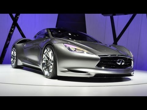 Infiniti Emerg-E Concept - 2012 Geneva Auto Show