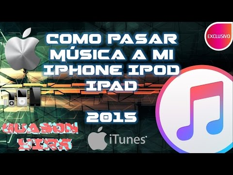 Como pasar musica a mi iphone,ipod, 2015 ultima versión Itunes 12