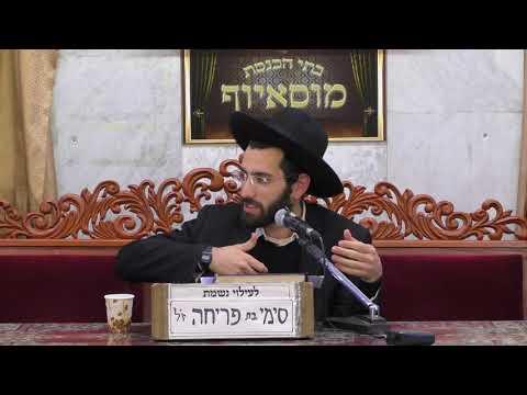 הרב נהוראי הלוי מכות מצריים ביטחון בהשם