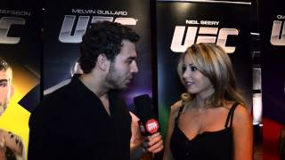 Interview with octagon girl Carly Baker