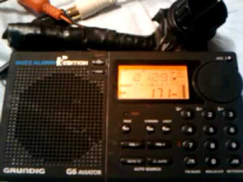 Grundig G6 - DXing Morocco on 171 kHz At Night in Nov 2009