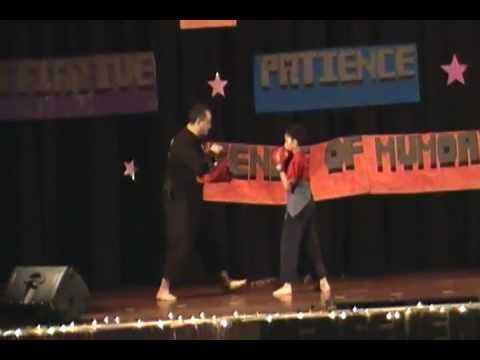 Carlos' School Talent Show Martial Arts Demo 2013 Image 1