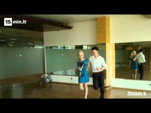 """""""Kviečiu šokti. Pažadinta aistra"""". Renatos Uzialkaitės ir Vadimo Šuško repeticija"""