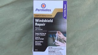 How to fix a stone damaged windshield