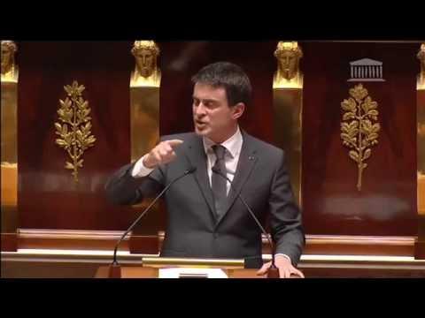 Hommage national par Manuel Valls, 13 janvier 2015