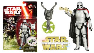 Star Wars The Force Awakens Captain Phasma Forest Mission 3.75 Inch Figure Toy Review Unboxing