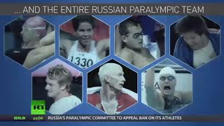 Entire Russian Paralympic team banned from Rio Games