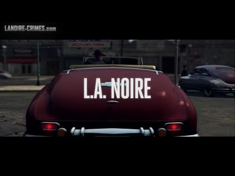 LA Noire - Intro & Mission #1 - Upon Reflection