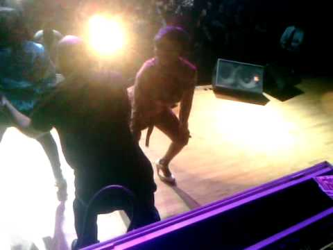 Mother and Daughter Booty Shakin Contest at Too Short Concert in Houston