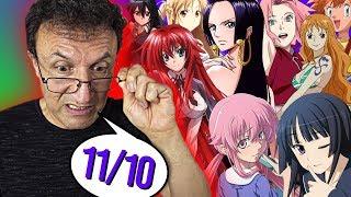Mein Vater BEWERTET Anime-Girls!