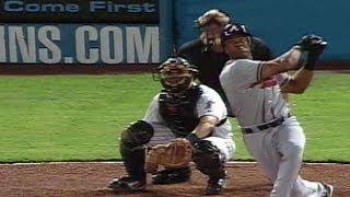 ATL@MIA: Julio Franco oldest to hit grand slam