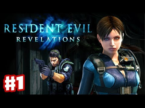Resident Evil Revelations - Gameplay Walkthrough Part 1 - Into the Depths (3DS. PS3. XBox 360)