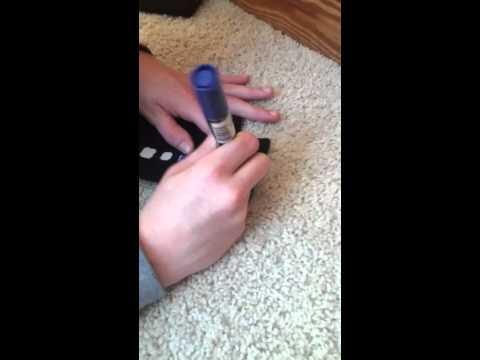 Nike Elite Socks Sharpie ▶ How to Dye Nike Elite Socks