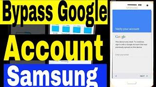 Samsung A3, A5, A7, J1, J2, J3, J5, J7, S5,  Bypass Google Account & unlock (100% Free )