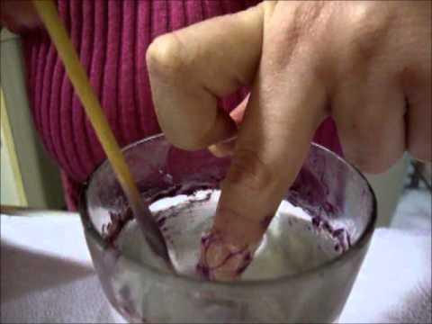 Unhas Marmorizadas/Marble Nails