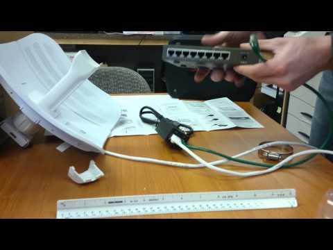 Ubiquiti LiteBeam M5 - Plugging In Cables (Part 3)