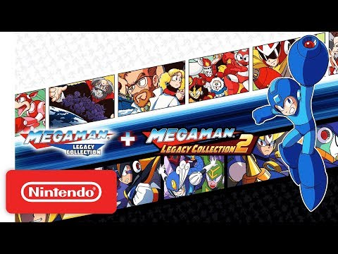 Mega Man Legacy Collection 1 + 2 Launch Trailer - Nintendo Switch
