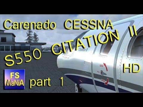Carenado Cessna Citation Carenado Cessna S550 Citation
