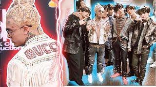 Así Fue Captado Lil Pump Tomándose Una Foto Con Bts Billboard Music Awards Los Mejores Outfits