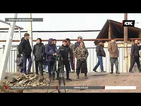 В поселке Туздыбастау Алматинской области объявили эвакуацию