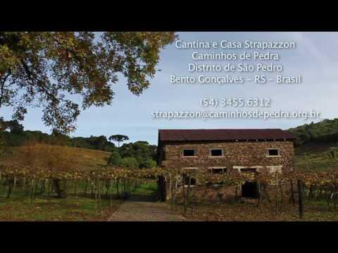 CANTINA STRAPAZZON Caminhos de Pedra Bento Gonçalves RS Brasil