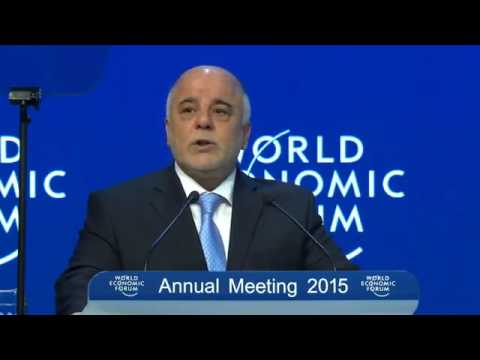 Prime Minister Haider al-Abadi attends the session