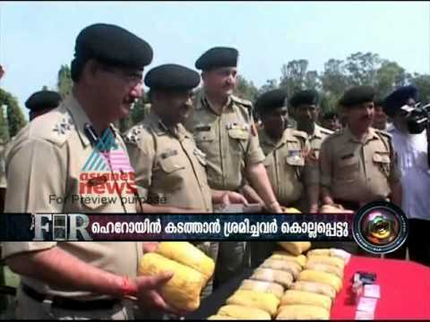 Border Security killed 3 Pakistani's for smuggling heroin drugs to India
