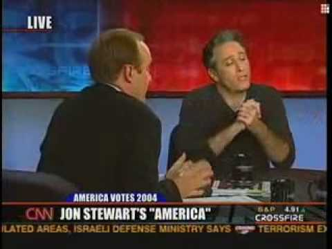jon stewart on crossfire