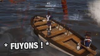 LES PLUS GRANDS MARINS DE L'HISTOIRE ! (Naval sur Holdfast avec AlterHis)
