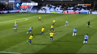 Hartlepool United vs Coventry City FA Cup 07/12/2013 1st half