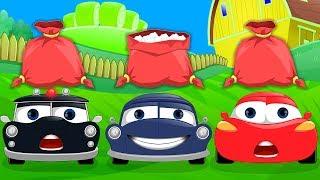 Baa Baa Black Sheep Car Nursery Rhymes   Rhymes For Kids   Car Song