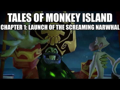 Tales of Monkey Island chapter 1 playthrough