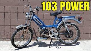 Essai 103 SP la puissance Peugeot ! - (FR)