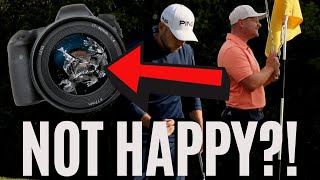 SMASHING MY CAMERA, MAKING BIRDIES AND HE STILL WASN'T HAPPY!