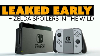 Nintendo Switch Console LEAKED EARLY - The Know Game News