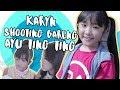 Karyn Putri - Shooting bareng Kak Ayu Ting Ting!