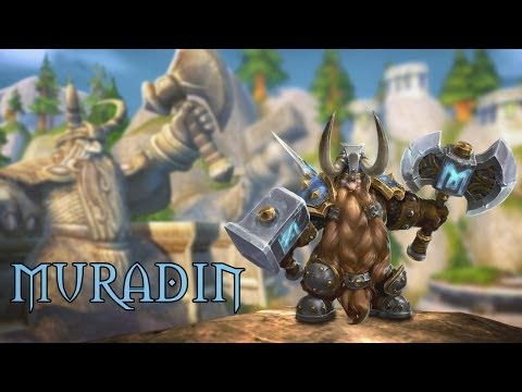 Heroes of the Storm: Muradin Trailer