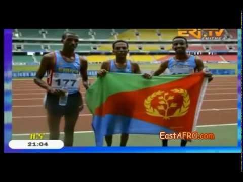 Eritrean Zersenay Tadese Wins the GOLD Reportage (September 17, 2015)