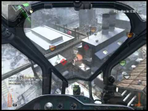 Black Ops Gunship Gameplay