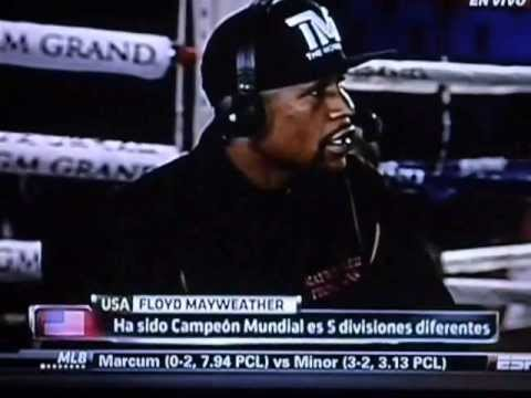 Juan Manuel Marquez Entrevista a Floyd Mayweather Jr sobre la pelea de mayweather vs Robert Guerrero