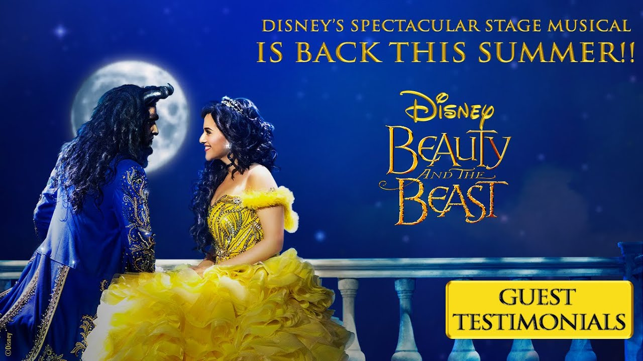 Beauty and the Beast | Guest Testimonials | Disney's Spectacular Stage Musical