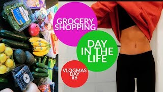 Grocery Shopping + Day In The Life (VLOGMAS DAY #6) // TessaRenéeTR