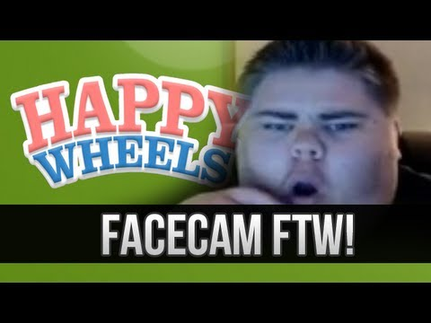 FACECAM - SLENDER Happy Wheels!