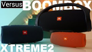 JBL Xtreme 2 Vs JBL BOOMBOX - Its All About Form Factor